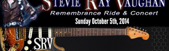 20th Annual Stevie Ray Vaughan Ride 2014